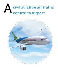 civil aviation air traffic control to airport