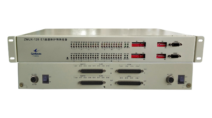 16-in & 8-out E1 Protection Switching(Failover)Equipment_ZMUX-128